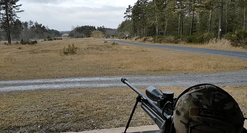 Hinter den kulissen long range shooting und betriebsbesichtigung