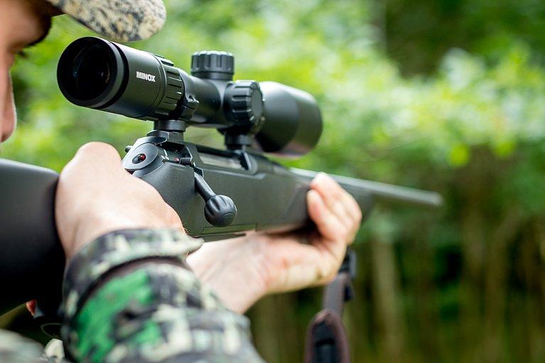 Praxistest minox zx i zielfernrohr wir jagen november
