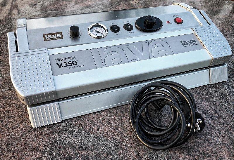 Von der Wiese auf den Teller - Praxistest: Vakuumiergerät Lava V.350 Premium