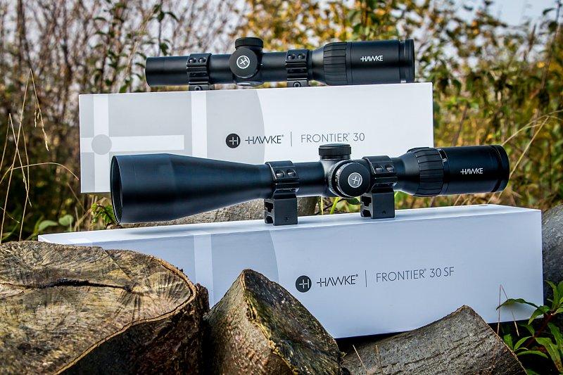 Praxistest: hawke allround zielfernrohr frontier 30 sf & drückjagd
